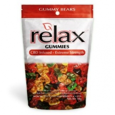 Relax Gummies - CBD Infused Gummy Bears