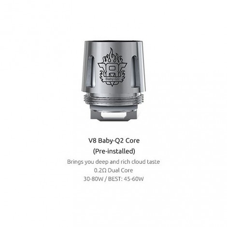 SMOK TFV8 Baby Replacement Coils - 5 Pack